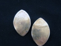 bronze-elongated-oval-earrings
