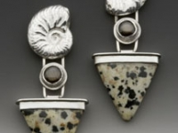 dalmation-jasper-earrings